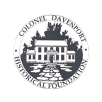 A logo for Davenport House