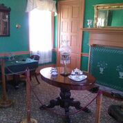 Room on display inside the Colonel Davenport House